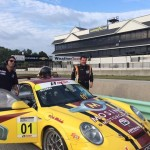 Jeff Mosing and David Baker on Grid at Road America