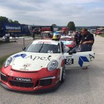 David Baker and Crew on Grid at Road America