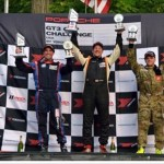 Jeff Mosing on the Top step winning in Road America