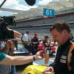 Jeff Mosing during and interview at COTA